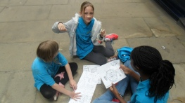 Creating our own city drawings